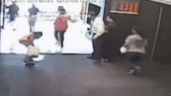 Disturbing Video Shows Man Ignite Bank With People Inside