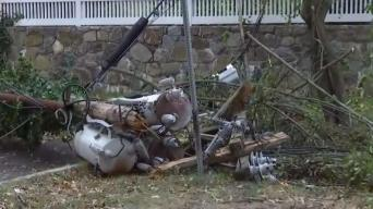 Downed Trees Leave Thousands in CT Without Power