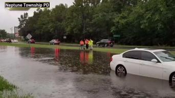 Dozens Rescued From Floods