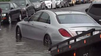 Drivers Stranded in Queens After Downpour