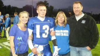Ohio Dad Sues Football Helmet Companies After Son's Death