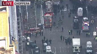 Explosion Set Off in New York City