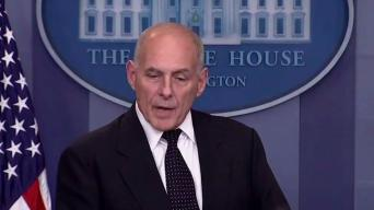 John Kelly Defends Trumps Condolence Call to Gold Star Widow