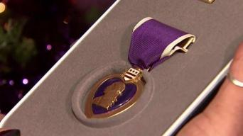 I-Team: Marine Gets Purple Heart Decades After He Died In Battle