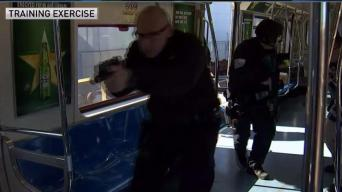Multiple Police Agencies Train for Terror on PATH