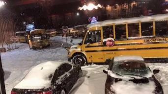 NJ Students Stranded at School Overnight