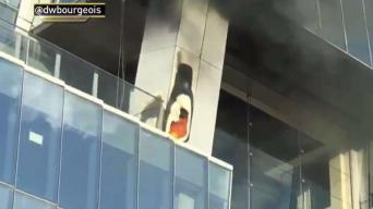 NYC Skyscraper Evacuated as Fire Breaks Out