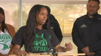 East LA Female College Football Player Makes History, Gets Full Football Scholarship