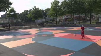 Turning NY Basketball Courts Into Canvases