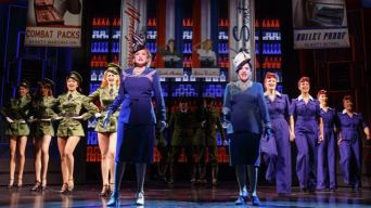 LuPone and Ebersole Deftly Apply 'War Paint'