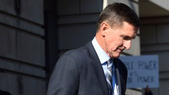Michael Flynn Campaigns in 1st Appearance Since Guilty Plea