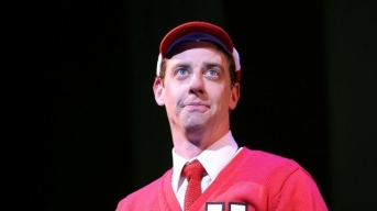 "Christian Borle Talks Theatrical Multitasking in ""Little Me"""