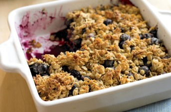 RECIPE: Blueberry Crumble