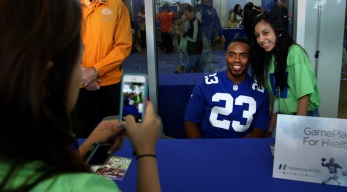Where to Meet Giants Players at the Expo