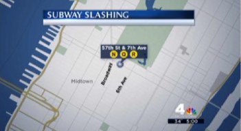 Man Slashed on Subway During Morning Rush in Midtown Manhattan: NYPD