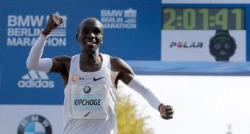 Eliud Kipchoge Sets New Marathon World Record in Berlin