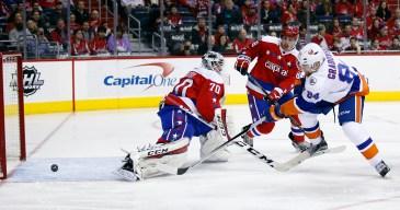 Capitals Beat Islanders