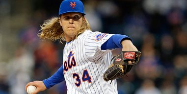 Syndergaard Pitches Mets Past Marlins 5-2