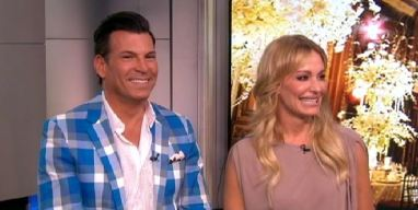 David Tutera and Taylor Armstrong on Wild Wedding