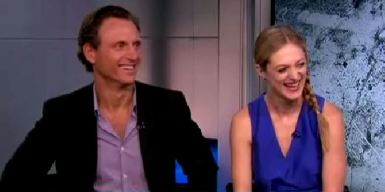 "Tony Goldwyn and Marin Ireland on ""The Divide"""