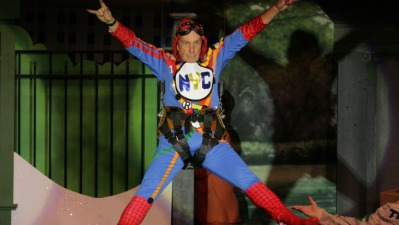 """""""Spider-Mike"""" Flies High At Charity Roast"""