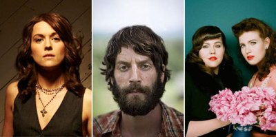 On Sale Fri: Ray LaMontagne AND Brandi Carlile AND the Secret Sisters