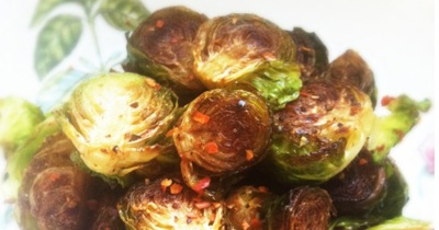 The Vegetable Diaries: Caramelized Brussels Sprouts