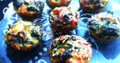 The Vegetable Diaries: Crustless Mini Quiche with Butternut Squash and Kale