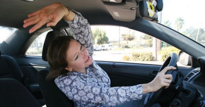 Go Healthy, Commuting: Stretch to Relieve Tension