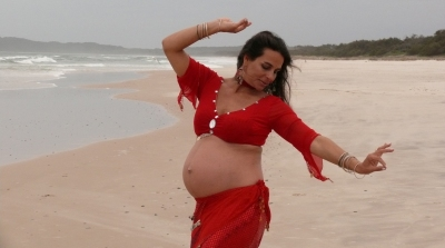Belly Dancing for Mothers-to-Be