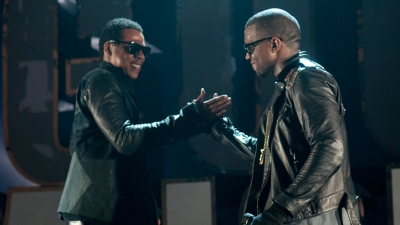 "Watch: Kanye and Jay-Z's ""Otis"" Video"