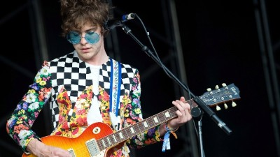 MGMT Makes it Rain Shoes in Calif.