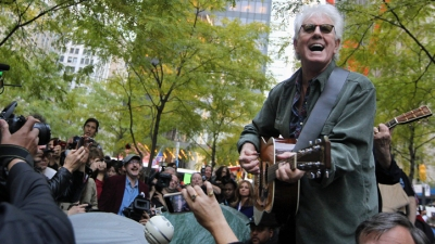 Crosby, Nash Perform at Occupy Wall Street