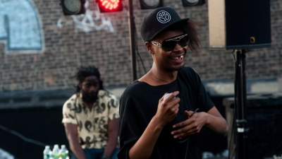 Danny Brown Gets Dirty on a Downtown Rooftop