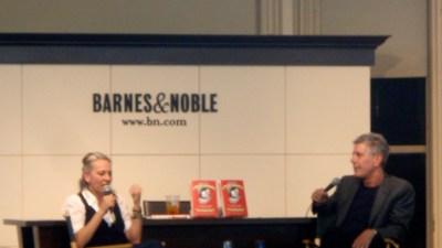 Bourdain Says Chefs Love Gabrielle Hamilton's Memoir