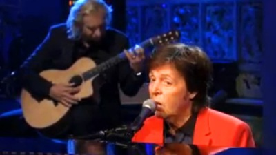 Paul McCartney On