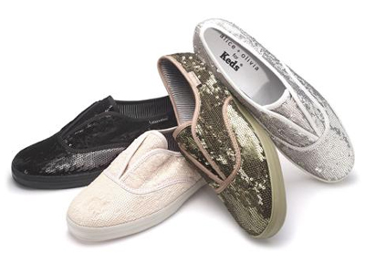 Alice + Olivia Makes Sequin Keds for Neiman Marcus