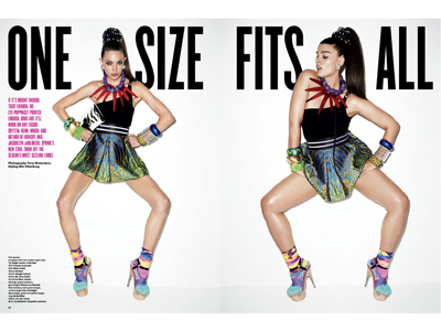 V Magazine Gives Plus-Size a Spin