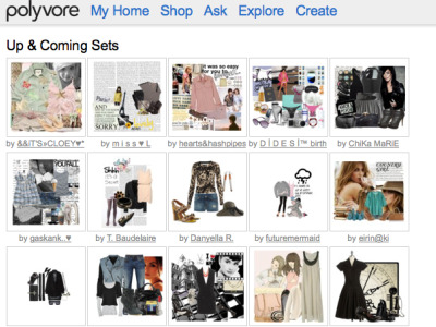 Retailers take to Social Media, Polyvore to Build Buzz
