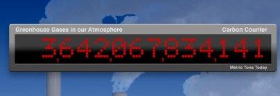 Penn Station Billboard Monitors Greenhouse Gases