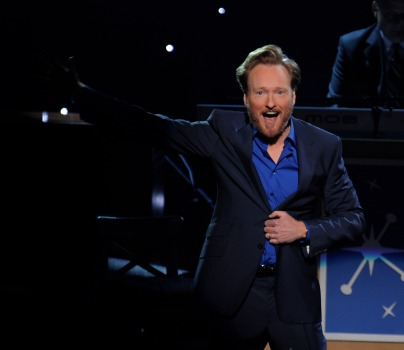 "Conan O'Brien: ""Be In This Moment and Play With It"""