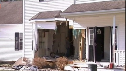 SUV Crashes Into Long Island Home; Driver Arrested