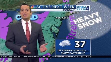 Raphael Miranda's early morning forecast for Saturday, February 6, 2016.
