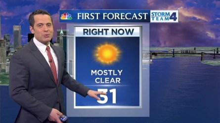 Raphael Miranda's morning forecast for Saturday, February 6, 2016.
