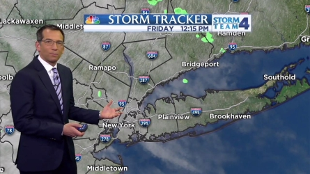 Dave Price's midday forecast for Friday, April 29th.