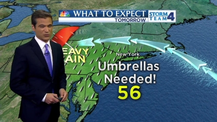 Chris Cimino's morning weather forecast for Thursday, May 5