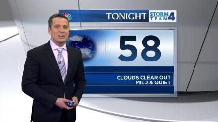 Raphael Miranda's morning forecast for Tuesday, May 24, 2016.