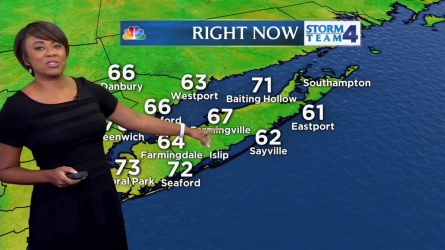 Janice Huff's weather forecast for Thursday, May 26.