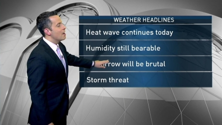 Raphael Miranda's forecast for July 24th.