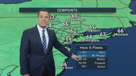 Raphael Miranda's Midday Forecast for Saturday, August 27